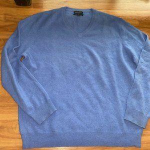 Club Room Blue Cashmere Sweater
